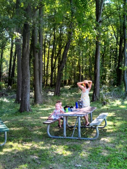 Amanda in the Park