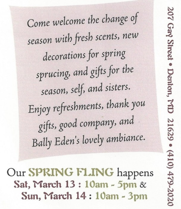 spring open house invite 001