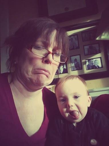 sad baby and me 2