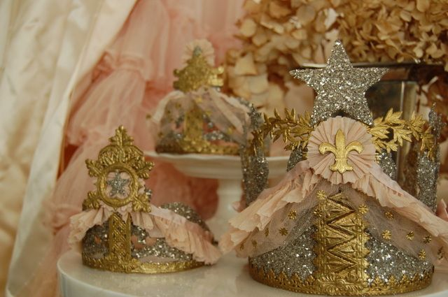 gold,silver, and pink crowns from Shalavee.com