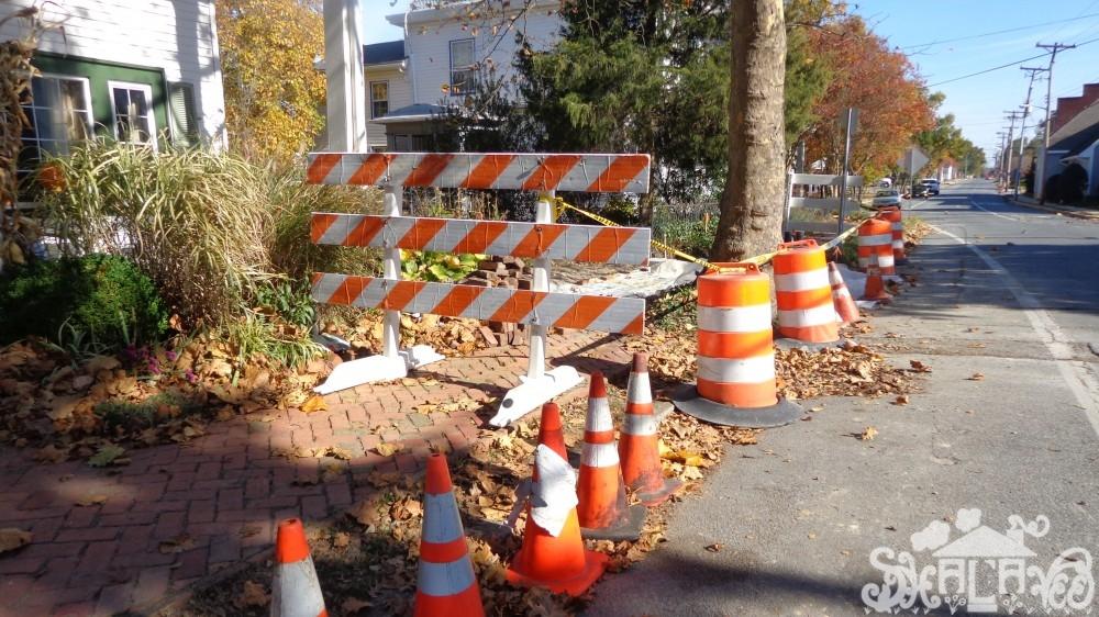 Caution driveway in progress on Shgalavee.com