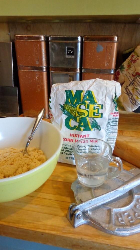 Masa Harina for Homemeade tacos on Shalavee.com
