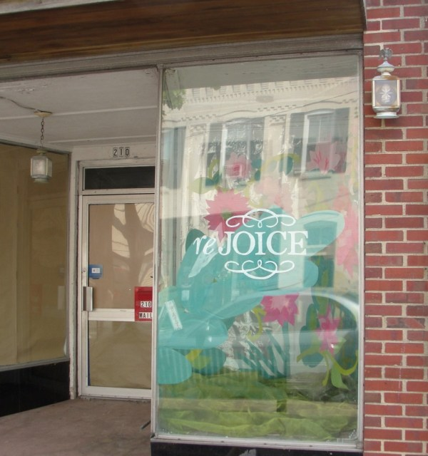 Rejoice window from Shalavee.com