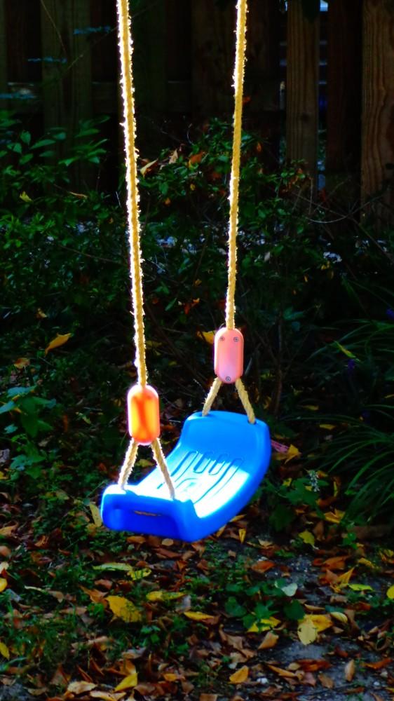 Blue swing  on Blue Huesday on Shalavee.com