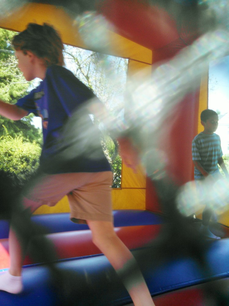 bouncy ride at library appreciation day from Shalavee.com