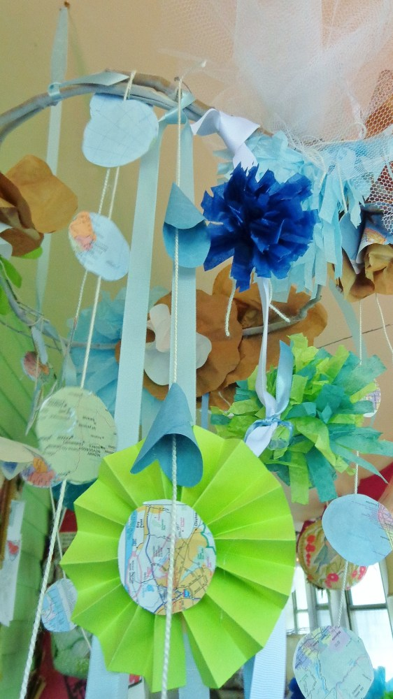 paper chandeliers from Blue Huesday on Shalavee.com