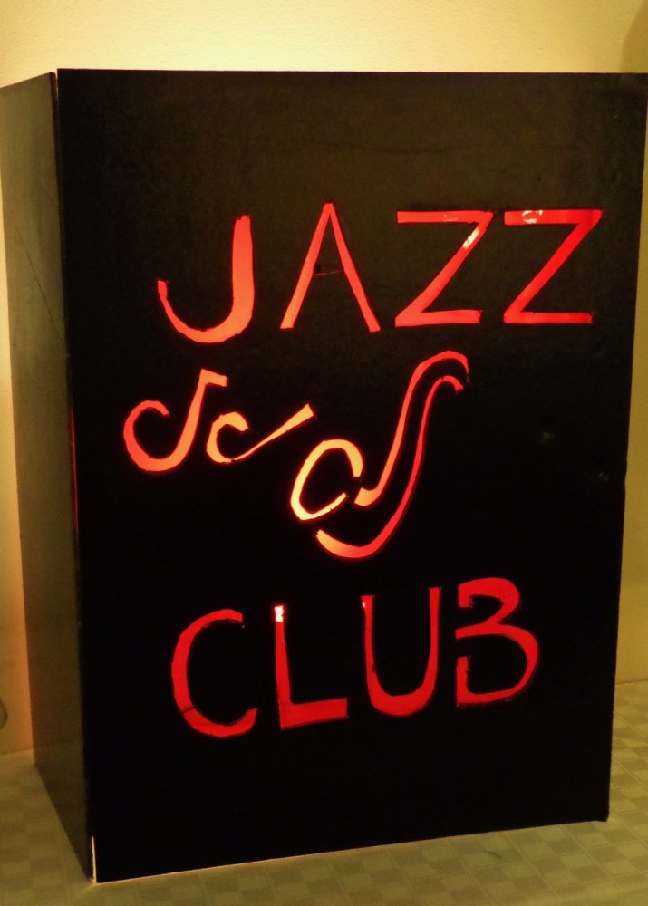 Jazz Club sign at the UU Review on Shalavee.com