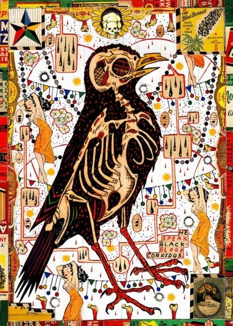 anatomy of a crow from Shalavee.com