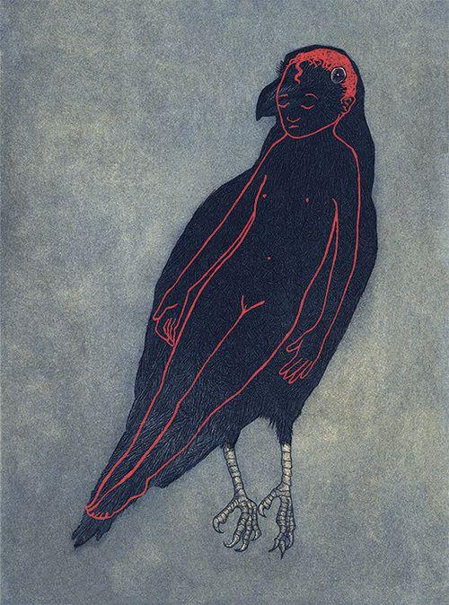 child inside crow from Shalavee.com