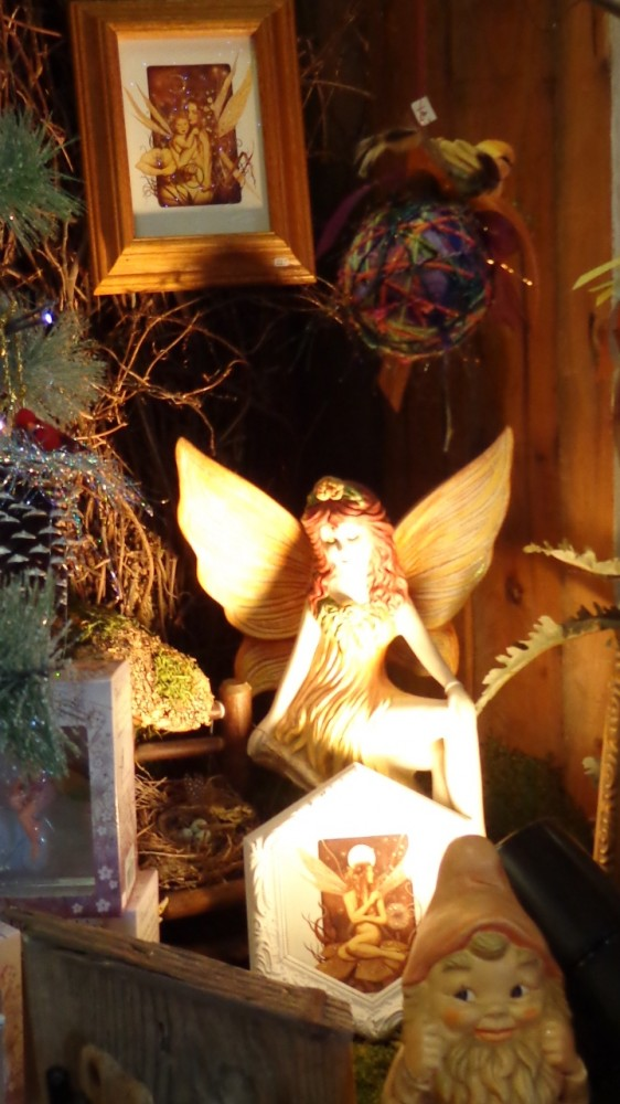 Greeted by a fairy at Moonvine on Shalavee.com