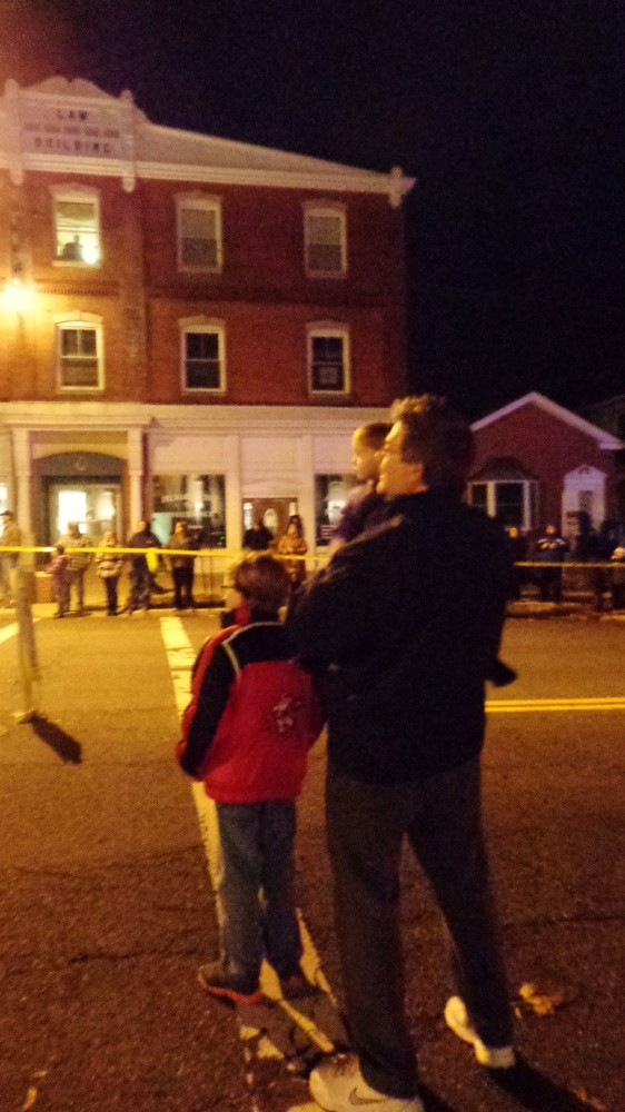 My family at the Christmas parade in Denton, MD on Shlalavee.com