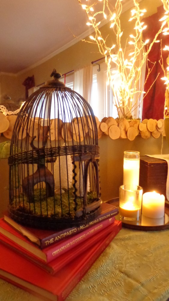 cage and candles from Christmas decorations 2014 on Shalavee.com