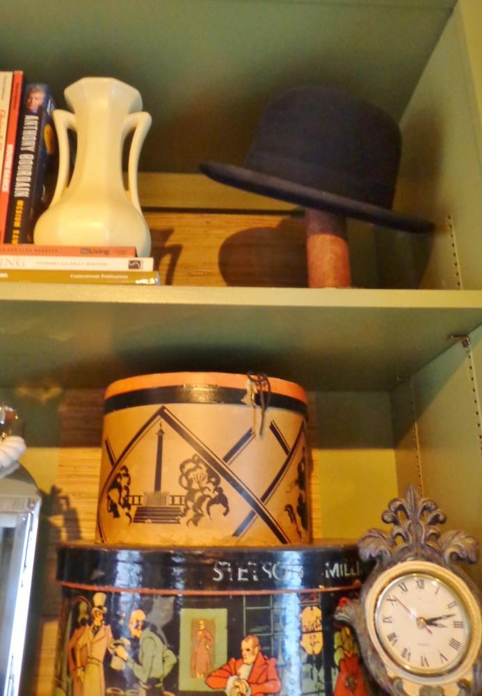 The bookshelves on Shalavee.com