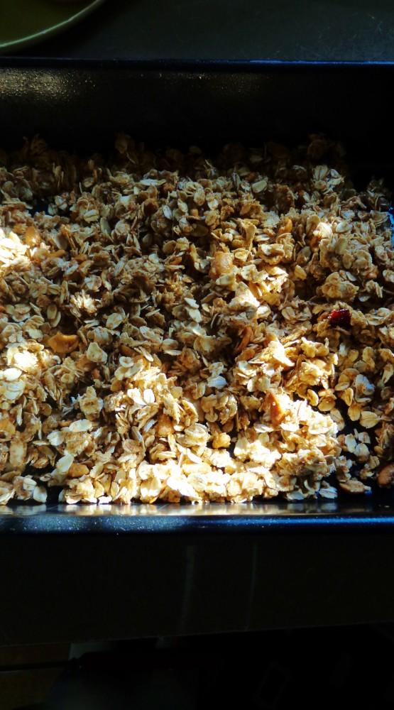 Granola recipe from Shalavee.com
