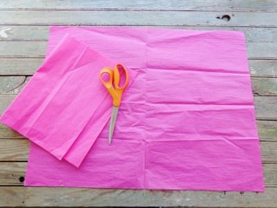 tissue paper tassels from Shalavee.com