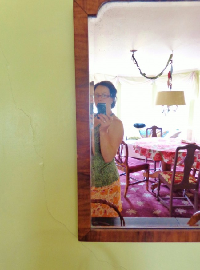 selfie in the dining room on Shalavee.com
