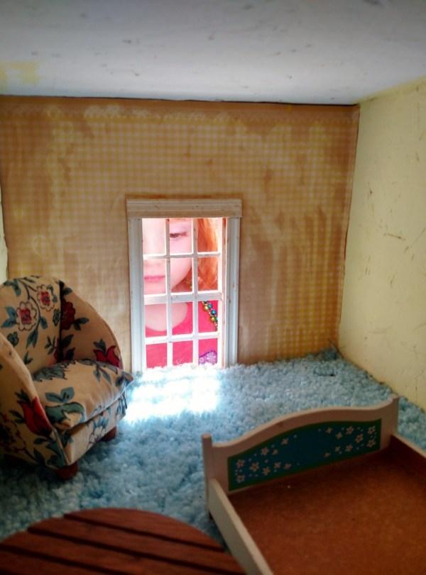 Fiona thru the window on Shalavee.com