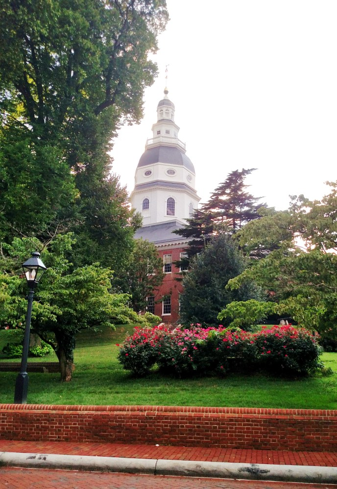 State House lawn in Annapolis on Shalavee.com