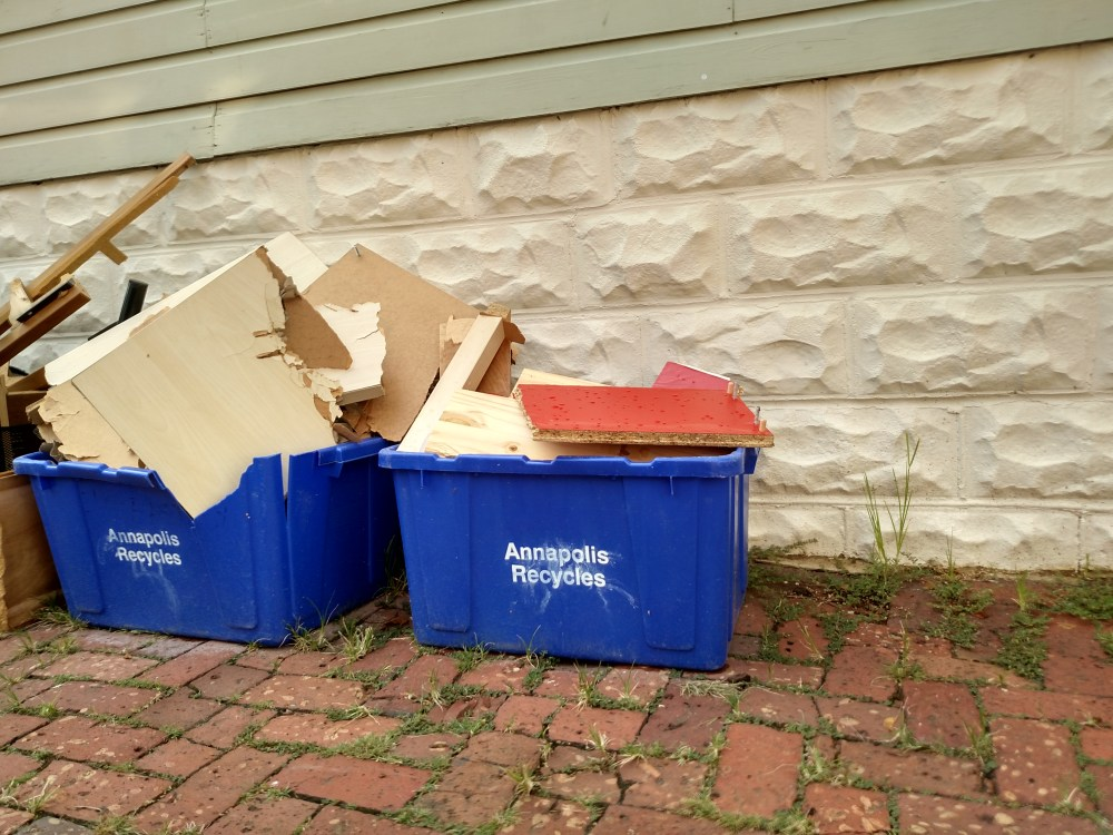 Recycling in Annapolis on Shalavee.com