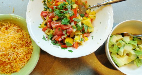 Fresh salsa on Shalavee.com
