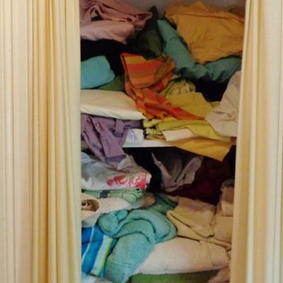 Messy closet on Shalavee.com