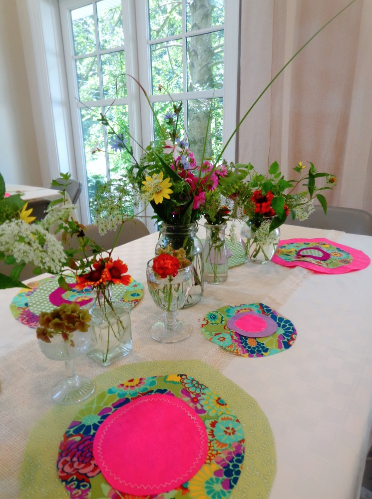 Suzani and Wildflower decorations on Shalavee.com