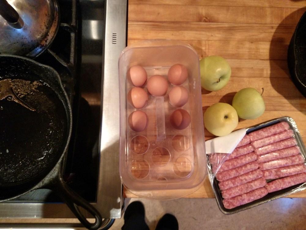 Making breakfast on Shalavee.com
