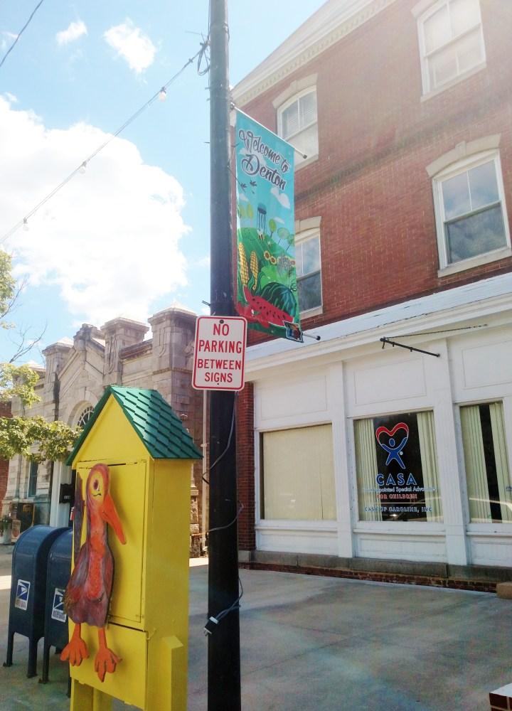 downtown Denton on Shalavee.com