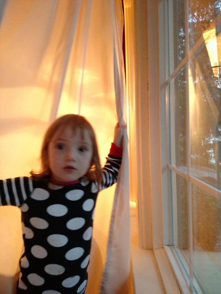 In the winter window on Shalavee.com