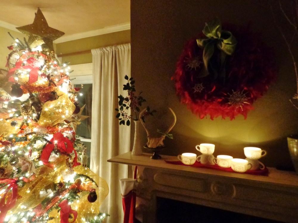 tree and mantlepiece on Shalavee.com
