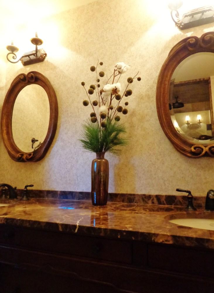 bathroom tall cotton piece on Shalavee.com