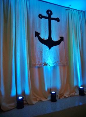 Anchor on curtain on Shalavee.com