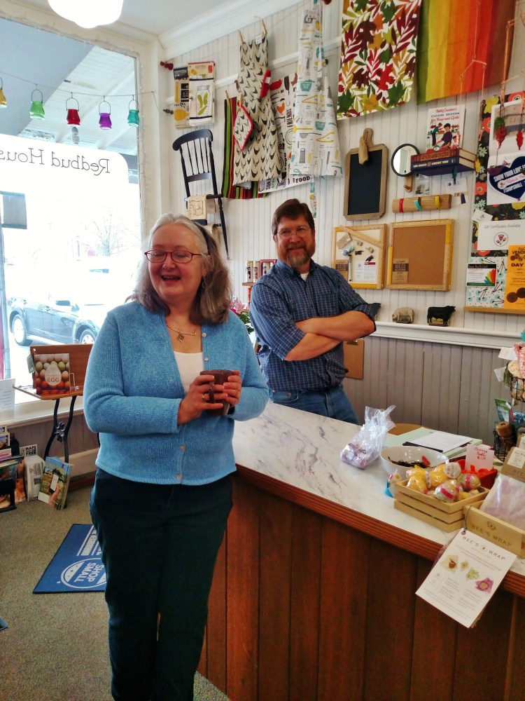 John And Rose Lansing and their Redbud House Shop on Shalavee.com
