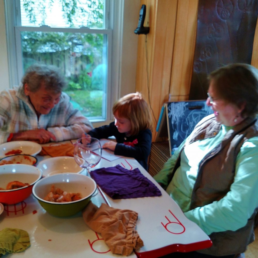 The grandmothers on Mother's Day on Shalavee.com