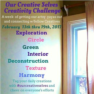 The First Our Creative Selves Challenge Begins