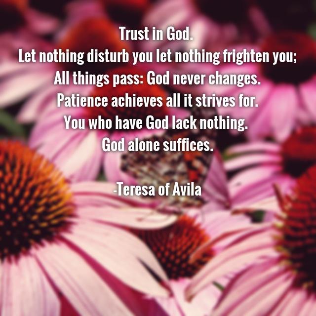 Shalem Institute Trust In God