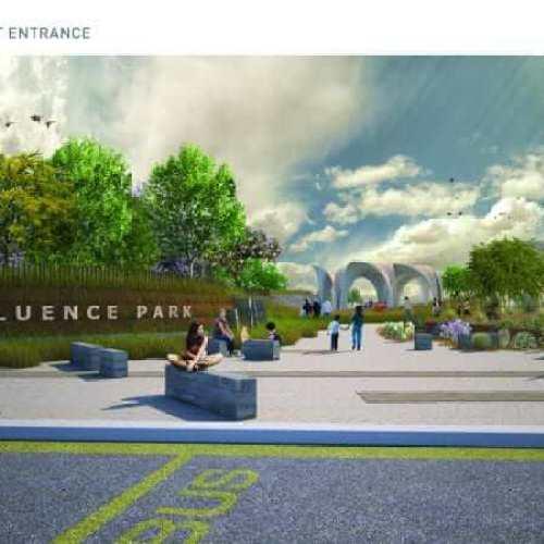 BHP Billiton Confluence Park Plans