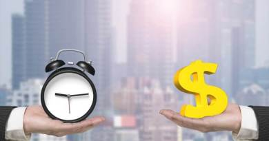 The Billionaires Secret Purchase - Dollar Sign And Alarm Clock With Two Hands