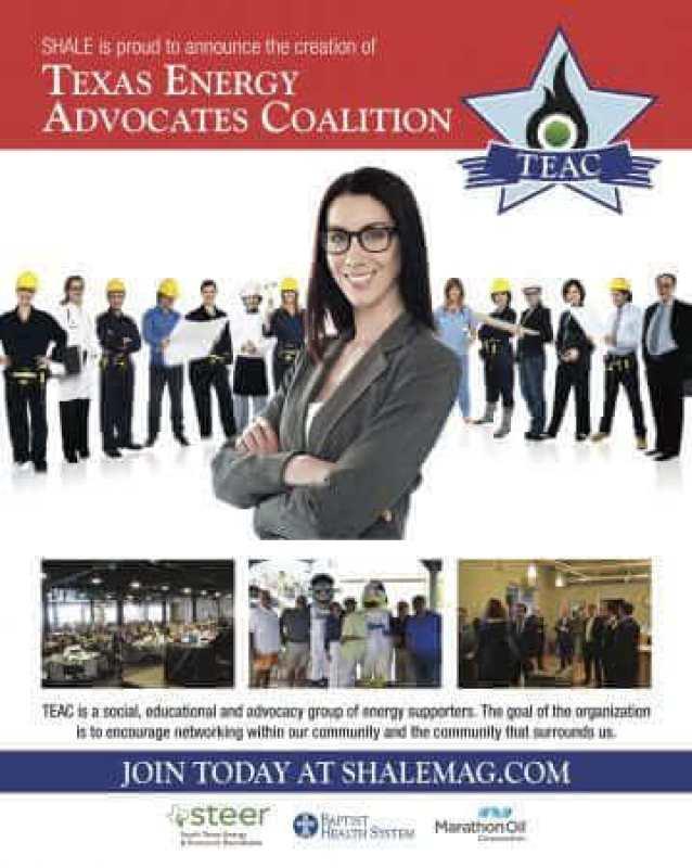 Texas Energy Advocates Coalition (TEAC) Flyer