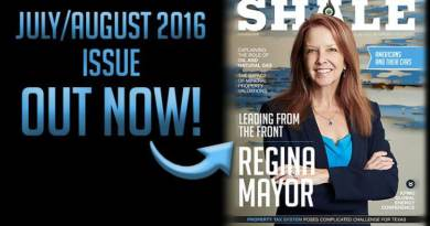 SHALE Magazine Cover Regina Mayor KPMG July August 2016