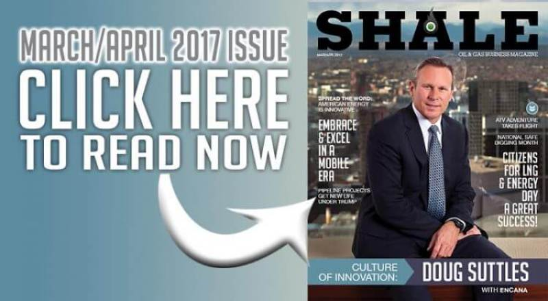 SHALE March April 2017 Featured Doug Suttles Encana