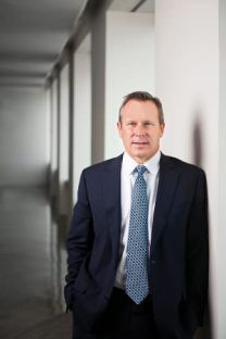 Portrait of Encana CEO Doug Suttles on Monday Nov. 21, 2016 in Denver. (Photo by Chris Schneider Photography)