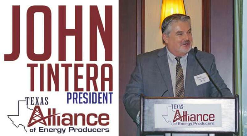 John Tintera Texas Alliance of Energy Producers ITOP Featured