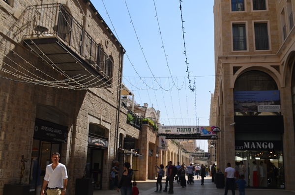 CONFLICTED: Born into the Israeli-Palestinian conflict, teens interviewed at Jerusalem's Mamilla Mall last month agreed that a two-state solution would be best but differed on how likely it was or whether it would really bring peace. Talks collapsed the next day.