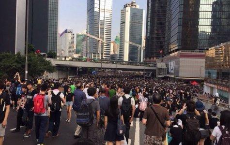 Ms. Kong's family joins Hong Kong democracy protests