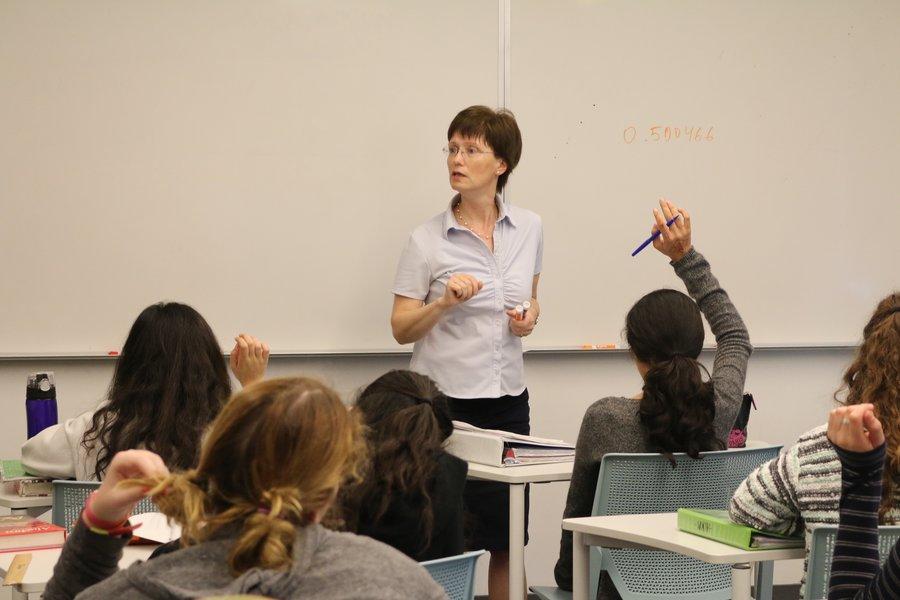 PRODIGY Mrs Malikov teaching a freshman Algebra
