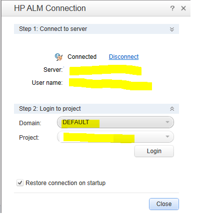 how to connect qc with qtp script