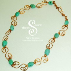 Turquoise-copper-links-necklace2