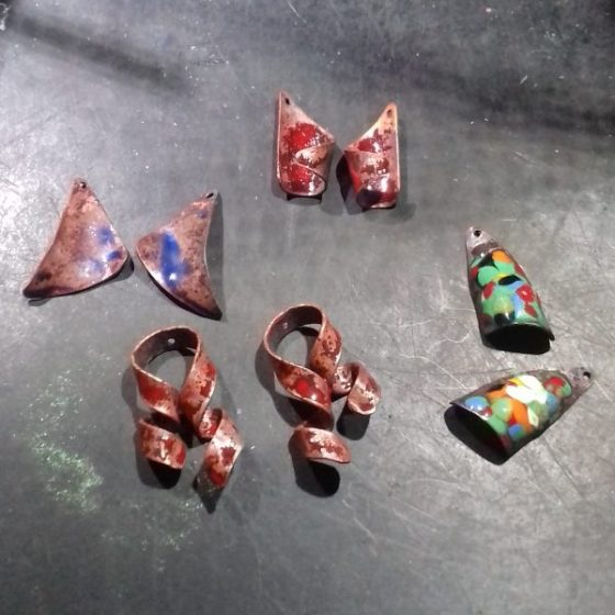 Enamelling Copper Part 1