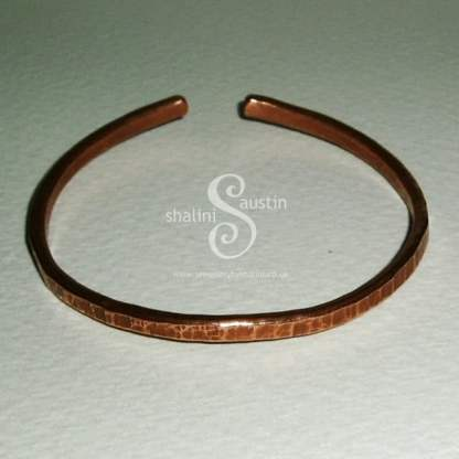 Handmade to Order – Copper Bangle Bracelet